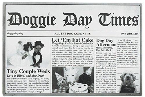 Doggie Mat (ORE Pet Doggie Day Times Placemat)