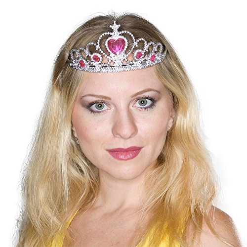 Princess Tiaras With Heart Stones - coolthings.us