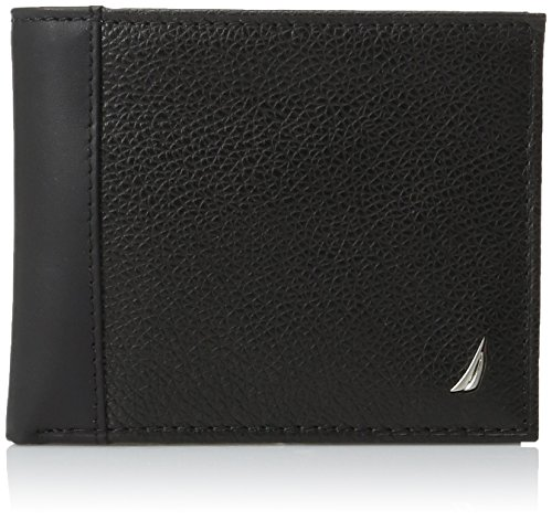 Leather Wallets for Men - Slim Thin Tactical Bifold Passcase with Removable Flipout Card Holder