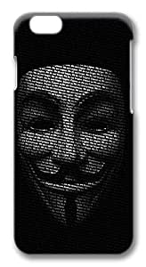 nymous Guy Faux Mask Protective Snap-on Hard Case Back Cover Protector Slim Rugged Shell Iphone 5/5S