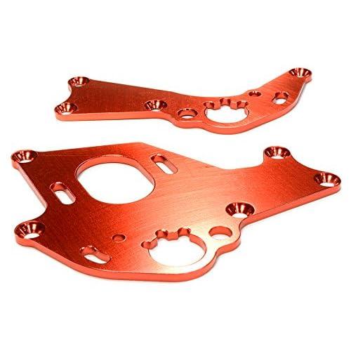 Integy RC Model Hop-ups C26303RED Billet Machined Motor Mount Plates for HPI 1/10 Sprint 2 On-Road