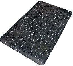 Rhino Mats TT-1848DSBW Marbleized Tile Top Anti-Fatigue Mat, 18\