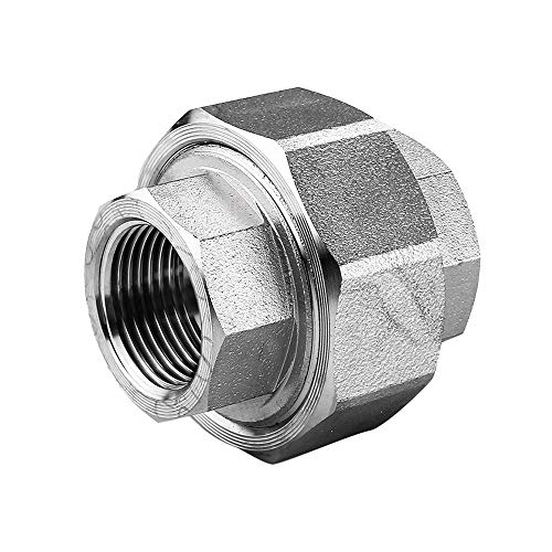 Avanty Stainless Steel 316L Forged Pipe Fitting, Union, High Pressure & Temperature Resistance (1