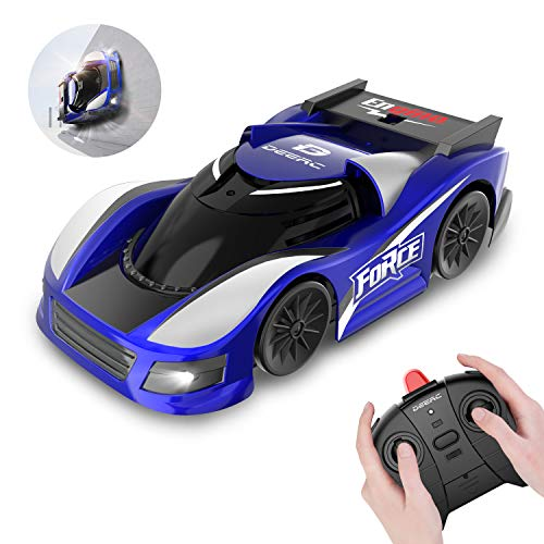 DEERC RC Cars for Kids Remote Control Car Toys with Wall Climbing,Low Power Protection,Dual Mode,360°Rotating Stunt,Rechargeable High Speed Mini Toy Vehicles with LED Lights Gifts for Boys Girls (The Best Remote Control Cars)