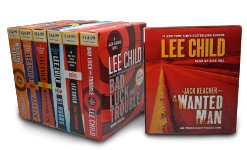 Lee Child CD Audiobook Bundle: Bad Luck and Trouble; Gone Tomorrow; 61 Hours; Worth Dying For; The Affair; Nothing to Lose; A Wanted Man by Random House Audio