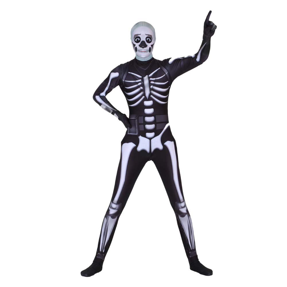 CSCLO Tema Cosplay Halloween Stage Performance Body Nero Skull Trooper Party Fancy Dress Costume Party Puntelli Costume Halloween