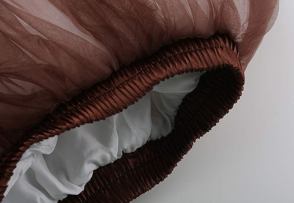 Reyoust Damen M/ädchen 2019 T/üllrock Tutu Unter Rock Petticoat f/ür Karneval Rockabily Klied mit G/ürtel
