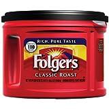 Folgers Classic Roast Coffee, 22.6 Ounce