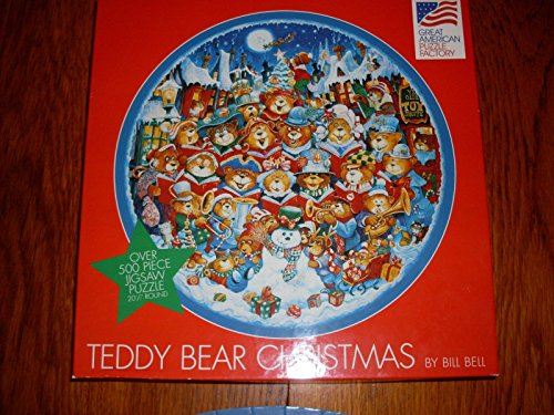Teddy Bear Christmas by Bill Bell - Over 500 Piece Jigsaw Puzzle - 20 1.2