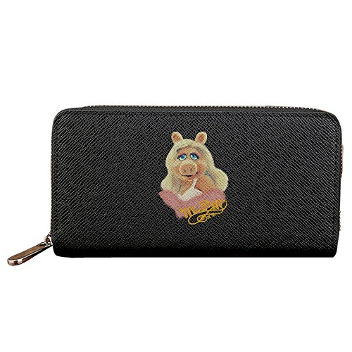 Womens Miss Piggy Tote Wallet Holder Handbags Purse