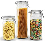 Best Circleware Glass Jars - Circleware Clip & Store Glass Canister Food Jars Review