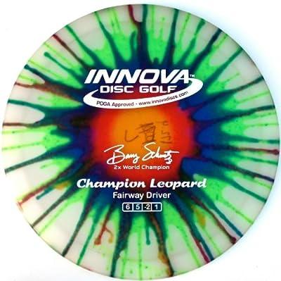 Innova Disc Golf I-Dye Champion Leopard Golf Disc, 170-172gm (Colors may vary)