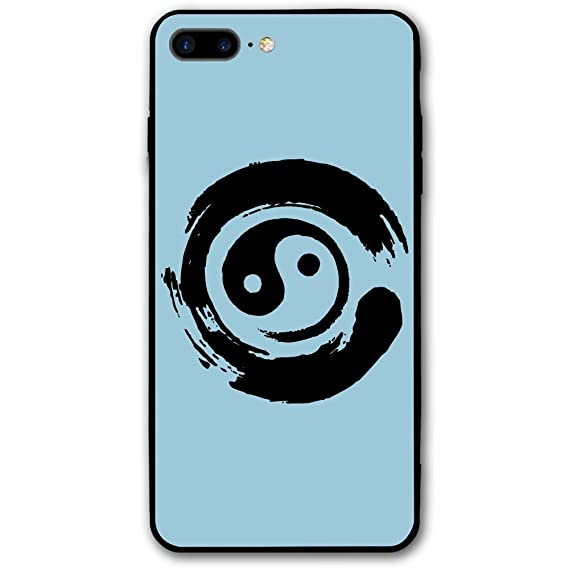 Amazon Iphone 8 Plus Case Yin Yang Symbol In Enso Circle