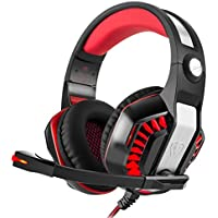 YUNQE Gaming Headset for Xbox One PS4 PC,GM-2 3.5 mm...