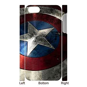 Marvel Comic Captain America Iphone 5/5s Hard Case Back Cover
