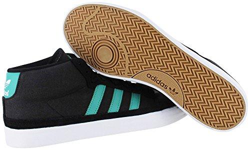 Adidas Skateboard Mens Rayado Mitten Svart / Fade Havet / Vit 8,5 D - Mediet