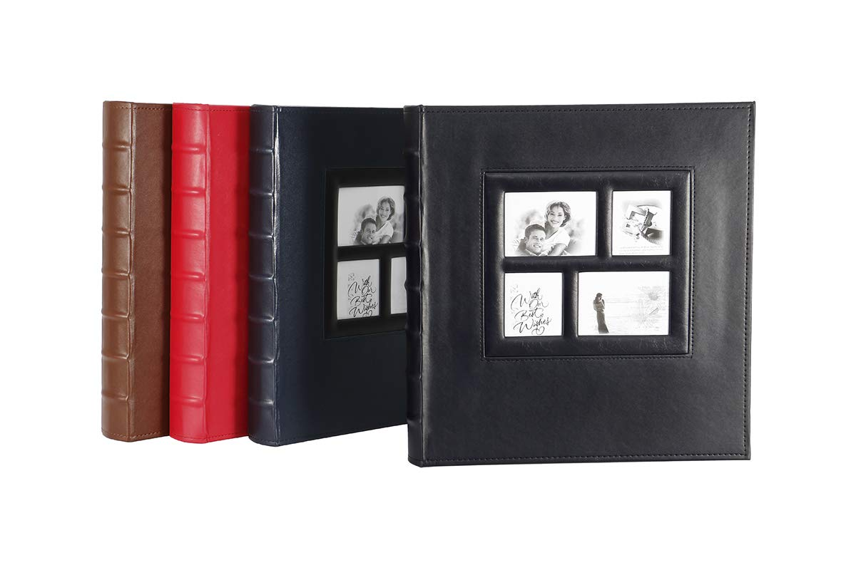 Photo Album 4x6 500 Photos Extra Large Capacity Leather Cover