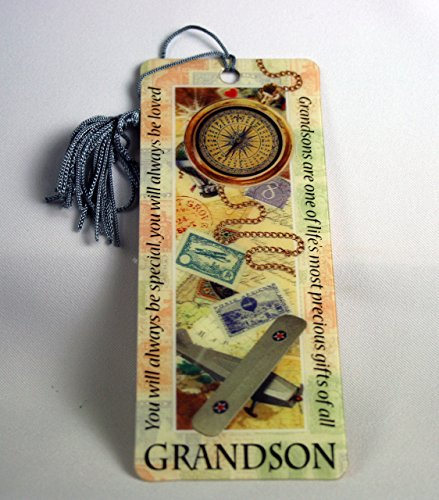 history-heraldry-special-grandson-bookmark-reading-personalized-placemarker-001890008-hh