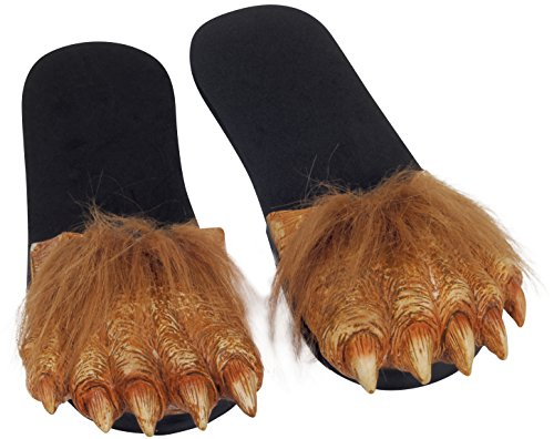 Billy Bob Hairy Werewolf Costume Feet Toy