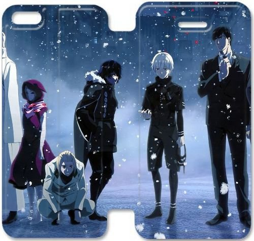 Hot Anime Tokyo Ghoul Series Customize Fashion Trend Design Plastic Skin PU Leather Flip Cover for iphone 5C Protective Case/Skin 14