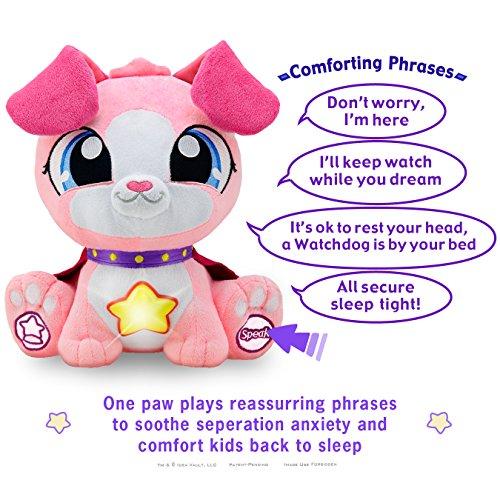Watchdogs Girls Bedtime Sleep Toy Stuffed Animal Soothing ...