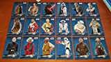 2016 Topps - Star Wars The Force Awakens (Series 2) - Complete 18 Character Sticker Set