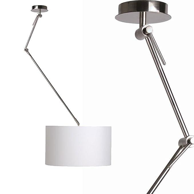 Licht-Trend Braccio/lámpara de techo ajustable con pantalla ...