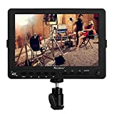 "pangshi S7 4K 7""Ultra HD LCD Video Field Monitor 1920x1200 High Resolution for Canon Nikon Sony Olympus Pentax Panasonic DSLR Camera Camcorder"