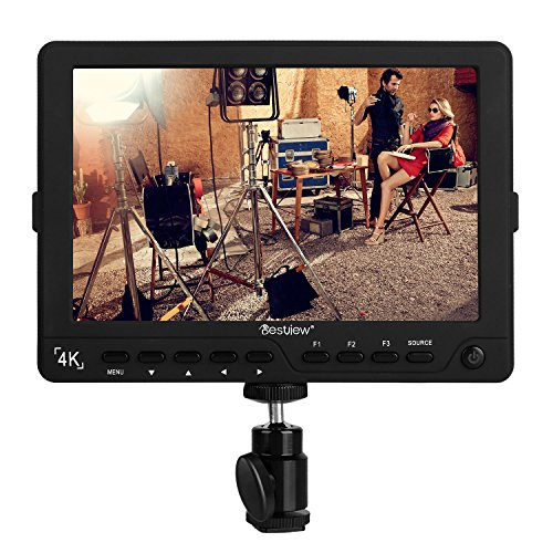 "pangshi S7 4K 7""Ultra HD LCD Video Field Monitor 1920x1200 High Resolution for Canon Nikon Sony Olympus Pentax Panasonic DSLR Camera Camcorder by pangshi"