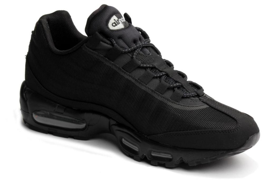release date: cf723 66c66 Nike Air Max 95 Premium Tape - Black Silver (Reflective Pack) - 599425 002  9  Amazon.co.uk  Sports   Outdoors