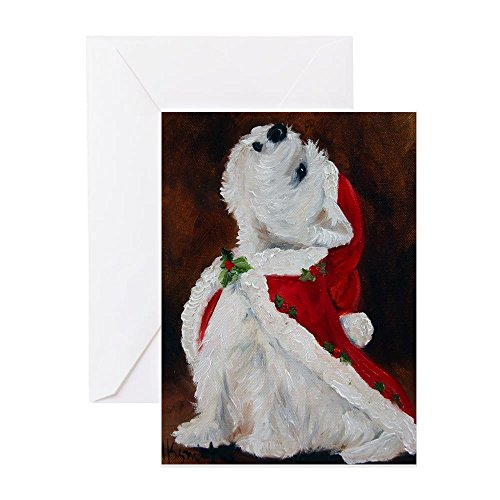(CafePress - Joy To The World - Greeting Card (20-pack), Note Card with Blank Inside, Birthday Card Matte)