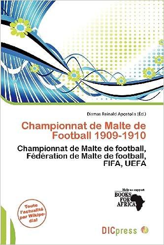 Livres Championnat de Malte de Football 1909-1910 pdf