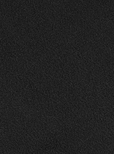 oodji Ultra Mujer Camiseta de Tirantes Finos Básica Negro (2900N)