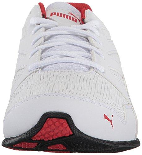 Sneaker da uomo Tazon Modern SL FM, Puma White-High Risk Red, 7 M US