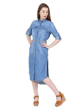 En Pour Femmes H Jean Gemma Longue Denim Robe Cindy xRqtw0Y6x
