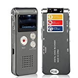 Digital Audio Voice Recorder / Dictaphone / MP3 Player -8GB