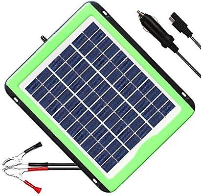 Amazon.com: Solperk - Cargador de batería solar de 12 V para ...