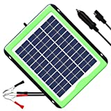 SOLPERK 20W Solar Panel,Solar trickle Charger,Solar Battery Charger and Maintainer, Suitable for Automotive, Motorcycle, Boat, ATV,Marine, RV, etc. (20W Solar Panels)