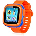 Kids Smart Watch,Educational Game Watch Kids Girls Boys, Learning Toys 3-10 Years Old Holiday Birthday Gifts (Orange)