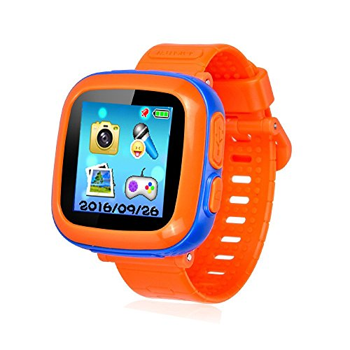 Kids Smart Watch,Educational Game Watch for Kids Girls Boys, Learning Toys 3-10 Years Old Holiday Birthday Gifts (Orange) For Sale