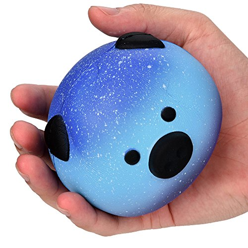 Cute Squishy Slow Rising Soft Star Pig Toy for Stress Relief and Time Killing, Selinora