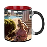 Magic Photo Ceramic Coffee Mugs, Personalized Custom Heat Sensitive Col Deal