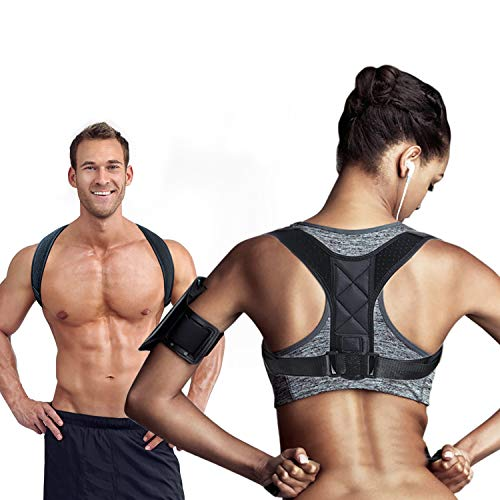 Posture Corrector for Men Women,Bad Posture Corrector for Providing Pain Relief from Neck,Back,Shoulder Bad Posture,Clavicle Back Support Brace