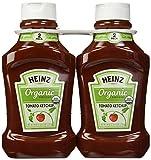 Heinz Organic Tomato Ketchup 2 44oz Bottles