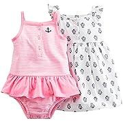 Carter's Baby Girls' 2 Pk 121g486, Pink, 9 Months