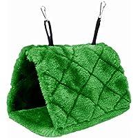 Plush Snuggle Pájaro hamaca para colgar Snuggle cueva