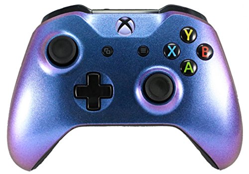 Xbox One Custom Gaming Controller -Color Changing Shell Purple & Blue - Xbox 1 (Chameleon) (Xbox Modded Controller Purple)