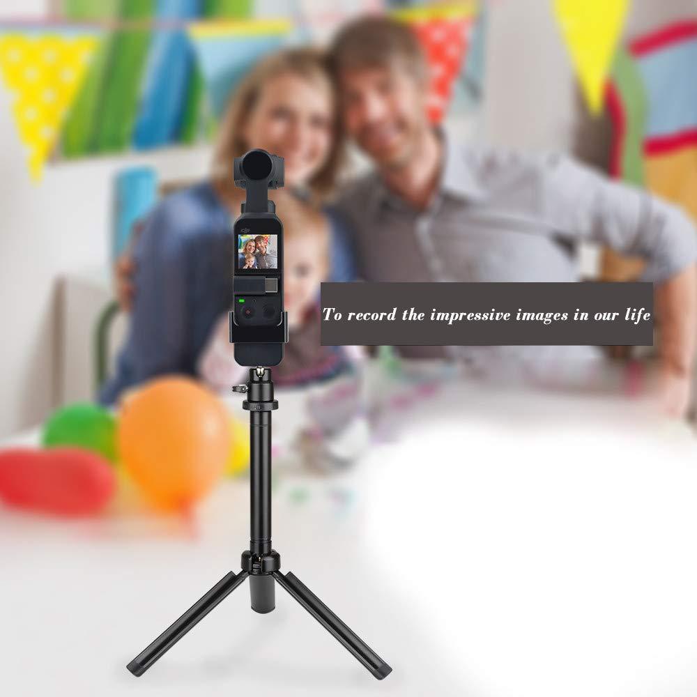 TAOtTAO Erweiterungsmodul-Adapter Erweiterungssatz Adapterhalterung 1//4 Screw Adapter Camera Bracket f/ü r DJI Osmo Pocket