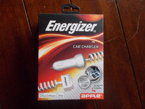Eveready - ENGCCIPDW - Ipad Car Charger Box Pkg Mfi Cert. Wh