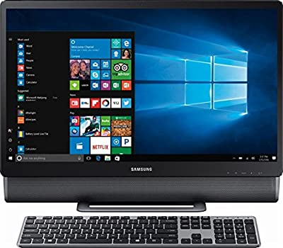 "Samsung 24"" Full HD Touch-Screen All-in-One Computer, Intel Core i5-7400T up to 3.0GHz, 12GB DDR4, 1TB HDD, WiFi, Bluetooth, Windows 10, Titan Gray"
